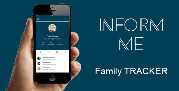 Inform me – Family Tracker ~ Source Code Android Free