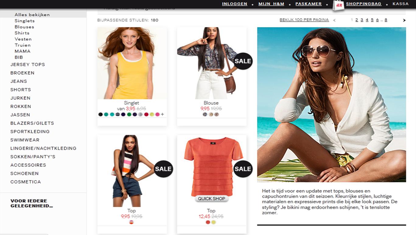 H&M Webshop