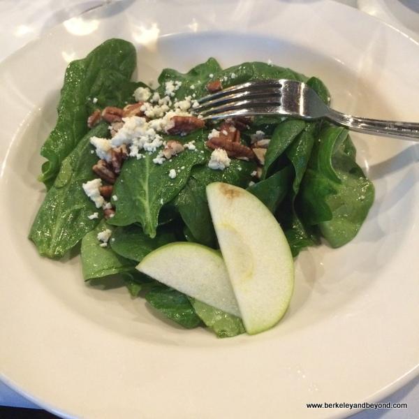spinach salad at 1910 Restaurant & Wine Bar in Lake Charles, Louisiana
