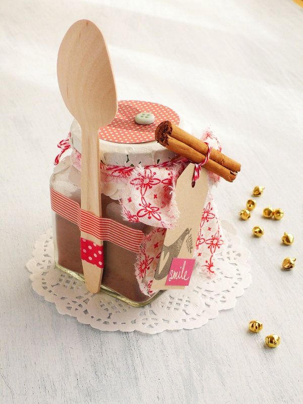 Idea regalo natalizia - Cioccolata in vaso