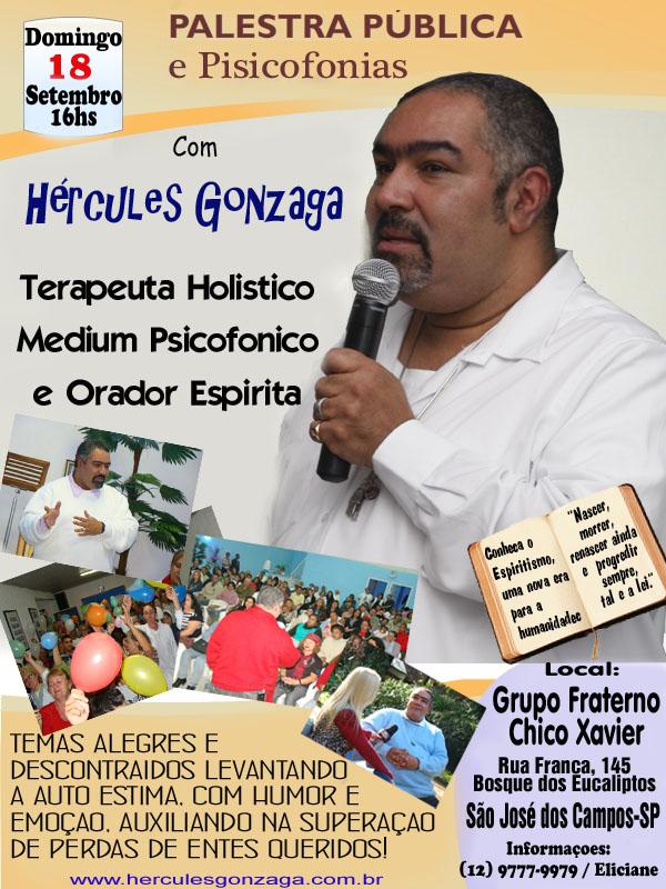 Palestra Do Espiritualista Hercules Gonzaga