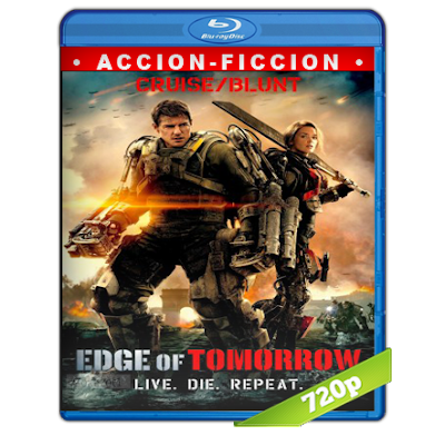 Al Filo Del Mañana (2014) BRRip 720p Audio Trial Latino-Castellano-Ingles 5.1