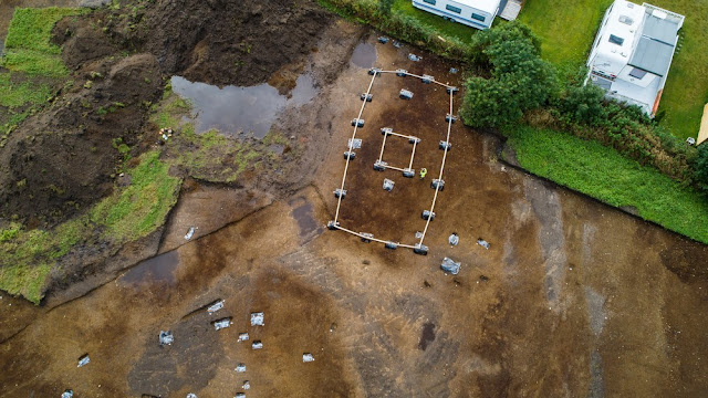 Pagan temple unearthed in Norway