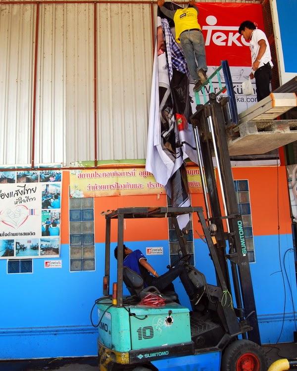 Buriram Hitachi Power Tools Water Pumps November 2014
