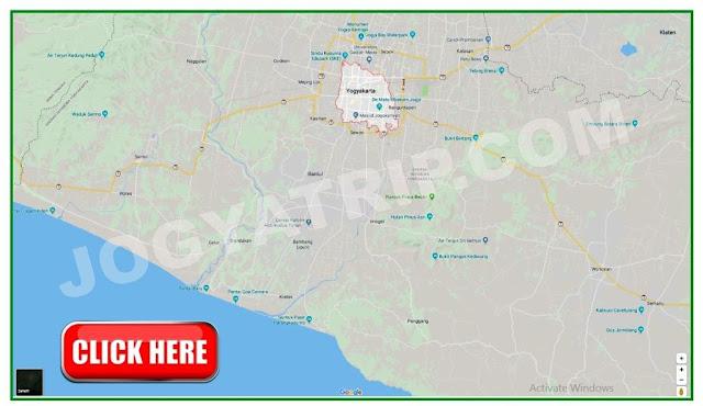 Tourism Map Jogyakarta