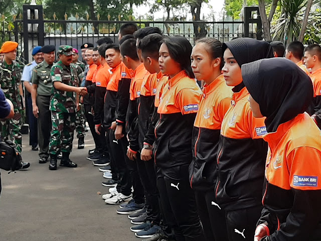 77 Atlet TNI dan Karateka Indonesia Ikuti Olimpiade Militer Tingkat Dunia di Wuhan