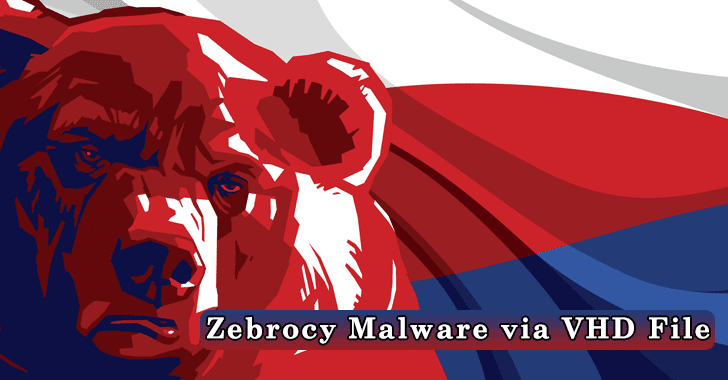 Zebrocy Malware via VHD File