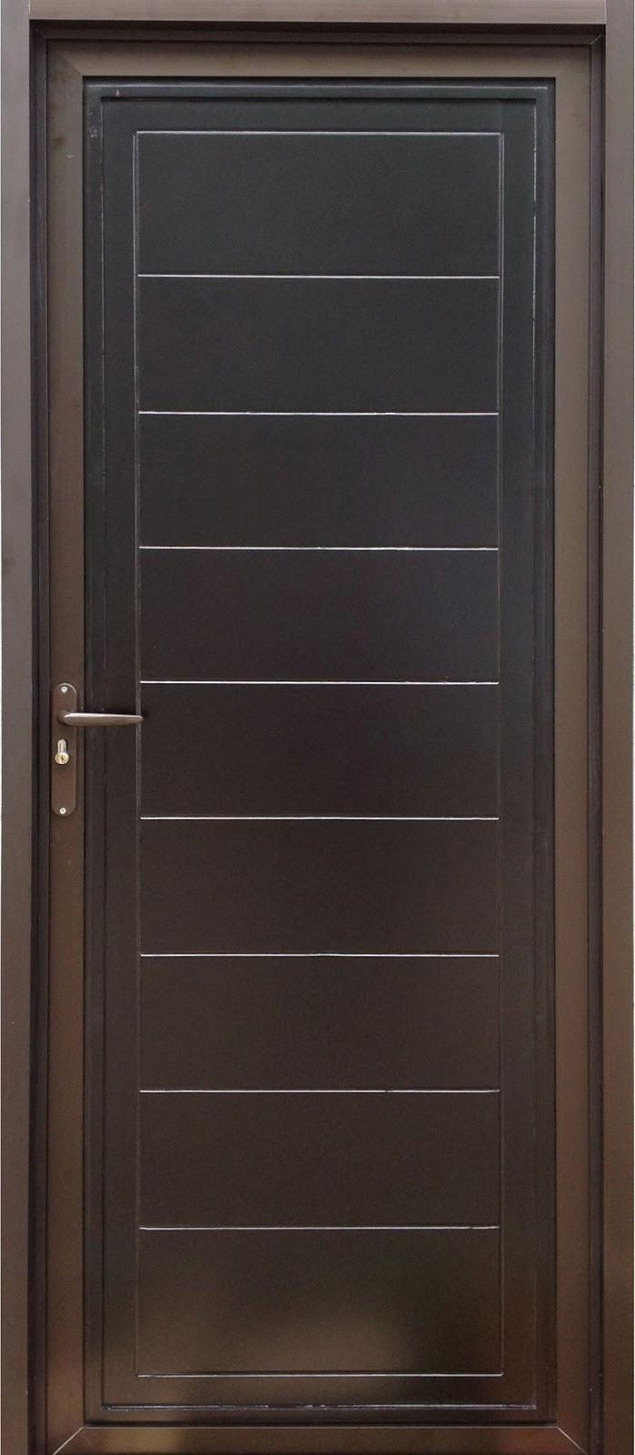 pintu aluminium kamar tidur 4