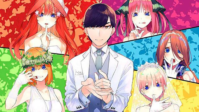 Próxima secuela del anime Gotoubun no Hanayome llegaría en 2022