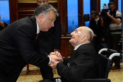Olofsson Placid, Orbán Viktor, Magyar Becsület Rend