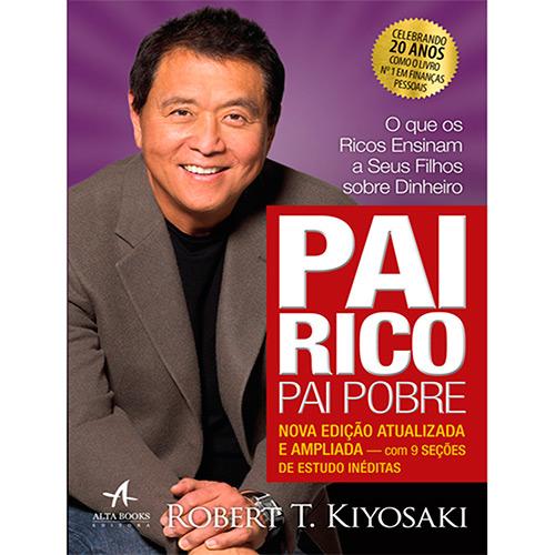 Capa do Livro Pai Rico, Pai Pobre