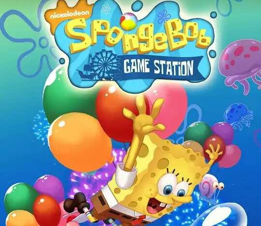 Game Spongebob Game Station