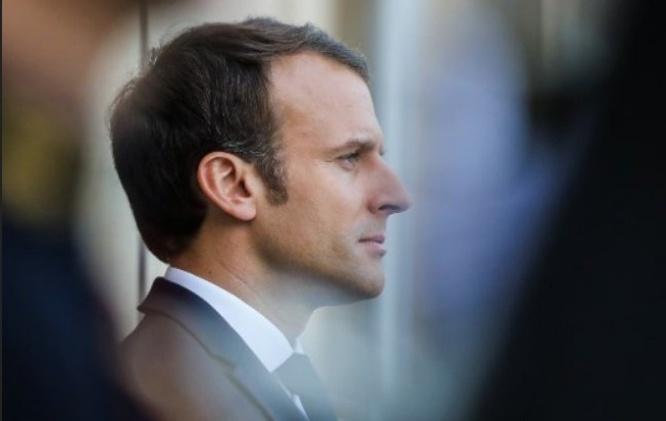 Emmanuel Macron dans le flou