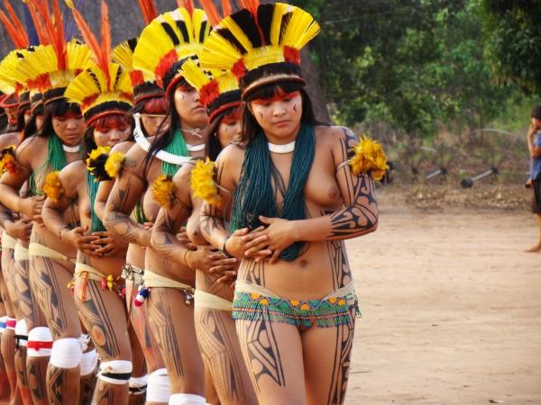 The same. Yawalapiti tribe women nude the