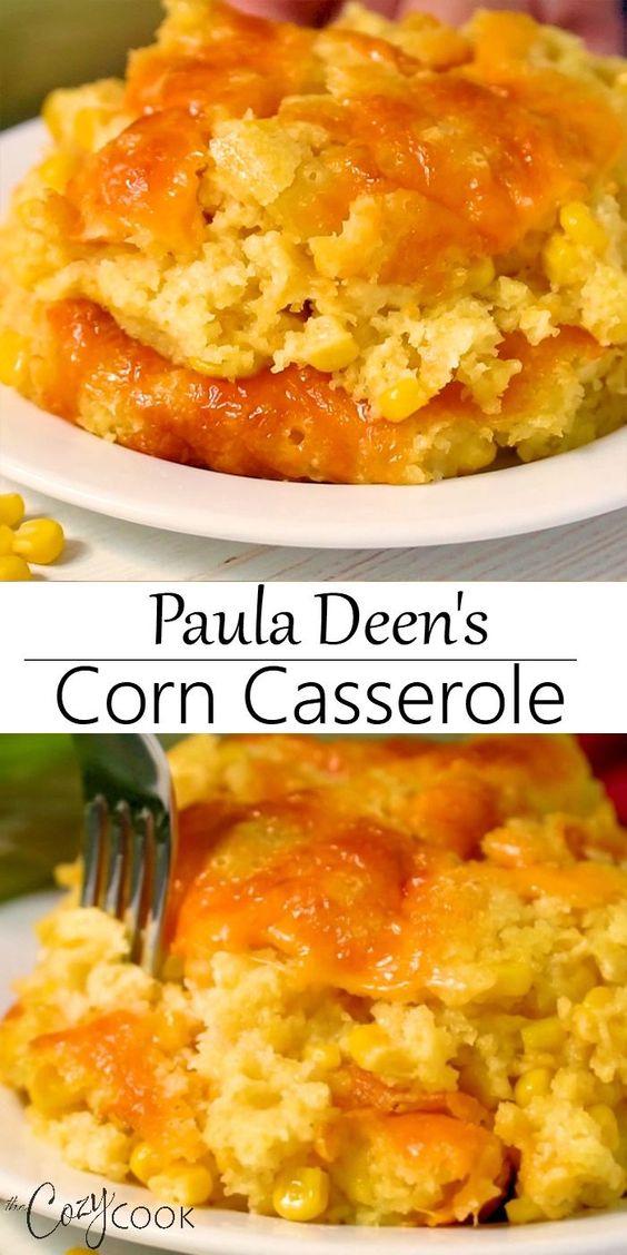 Best Paula Deen's Corn Casserole Recipe