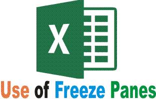 Excel Freeze Option