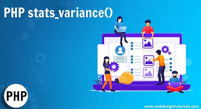 PHP stats_variance() Function