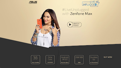 #LiveUnplugged with Zenfone Max