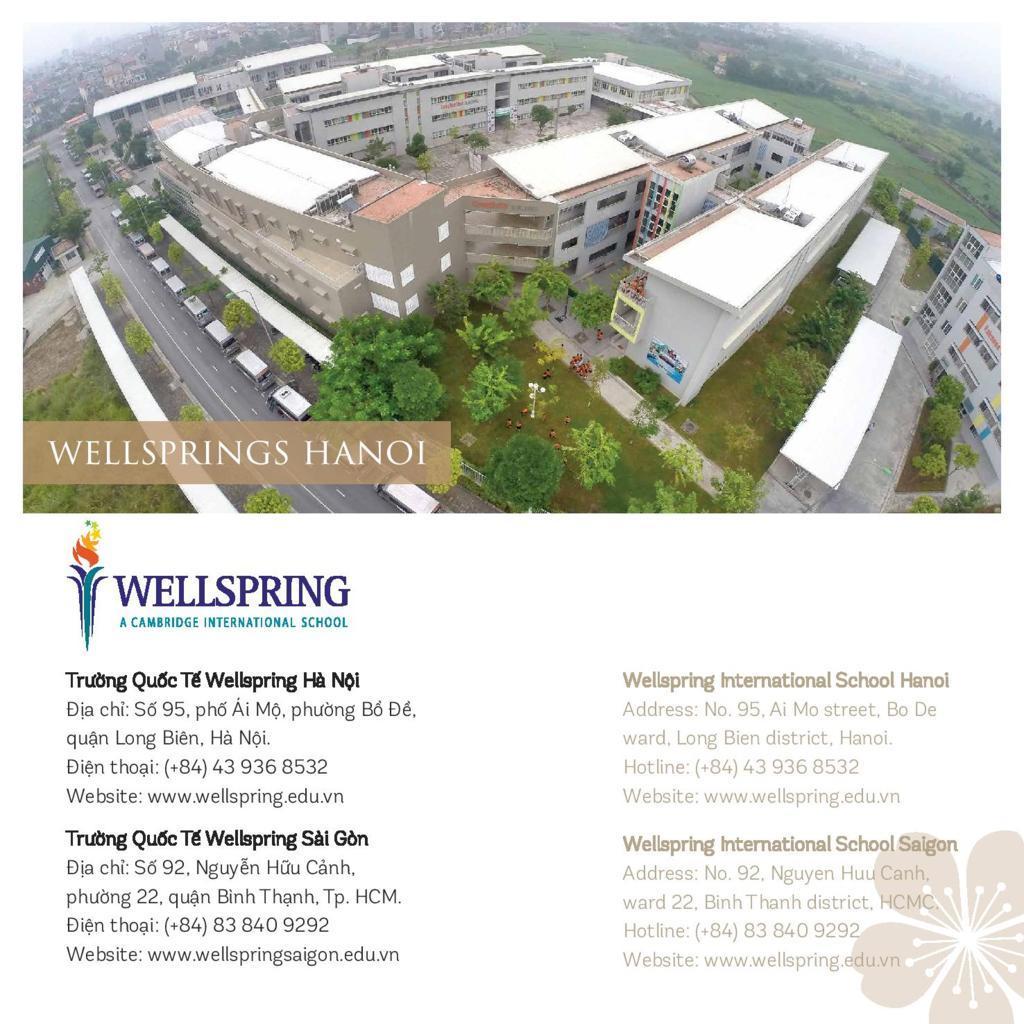 Trường quốc tế liên cấp Wellspring Hà Nội