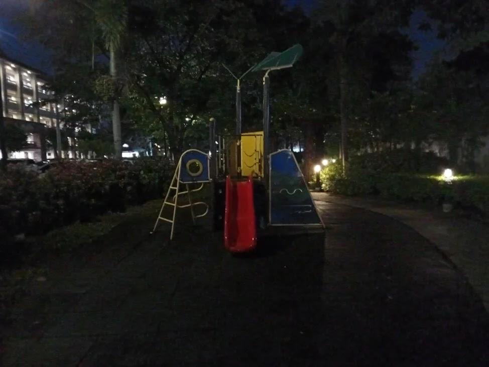Nokia G10 Camera Sample - Playground, Night, Normal