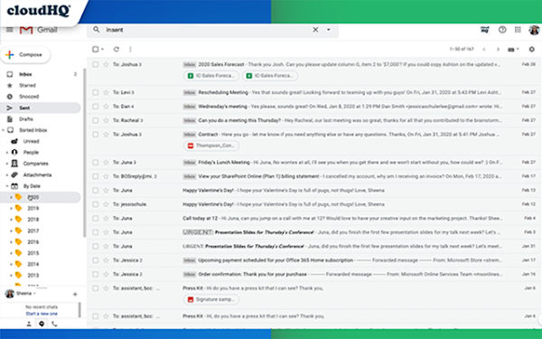 Cómo ordenar los correos electrónicos de Gmail en Chrome