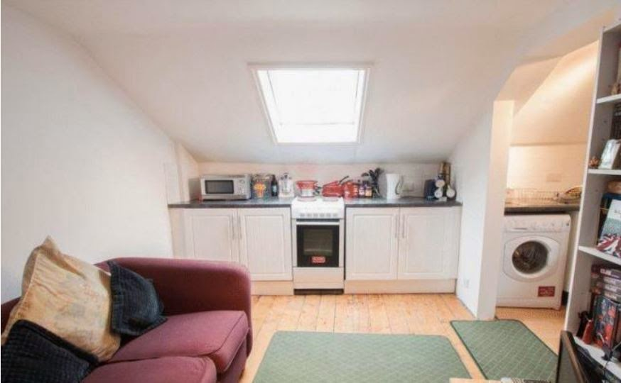 chichester buy to let flat kitchen