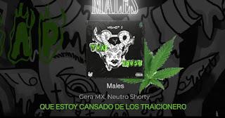 LETRA Males Ochentay7 Music Gera Mx Neutro Shorty