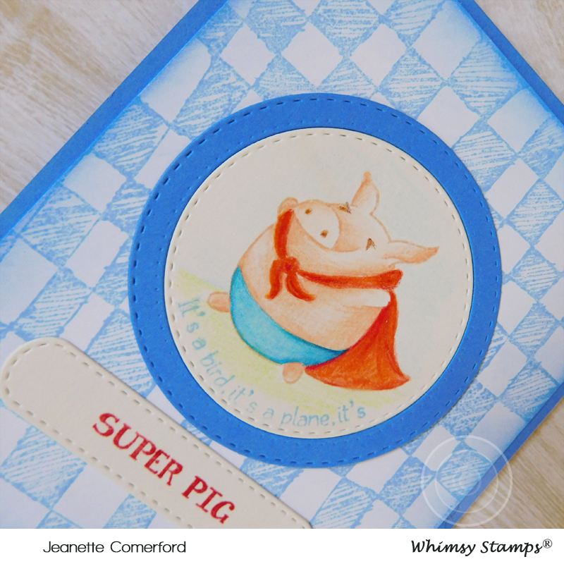 Happy Thoughts & Inkspots: Super Pig!