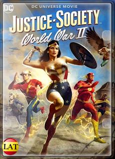 Justice Society: World War II (2021) DVDRIP LATINO