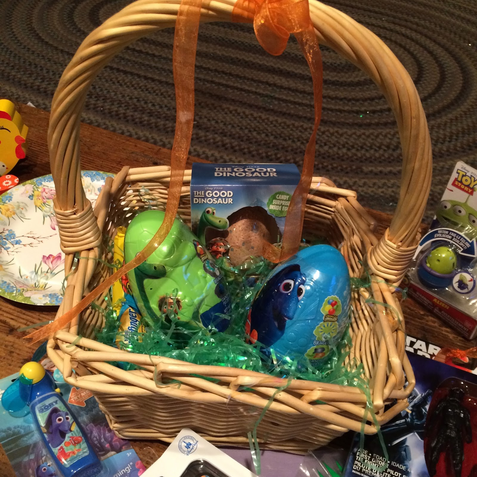 Dan the pixar fan disneypixar easter basket ideas 2016 finding just posted a page update to my good dinosaurfinding dory easter basket ideas post i got a few of the items mentioned for easter and my nephew and i had negle Choice Image