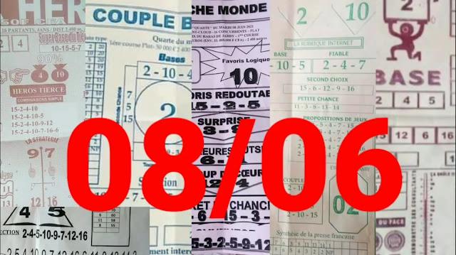 Pronostics quinté pmu Mardi Paris-Turf 08/06/2021