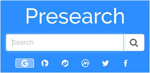 Presearch  là gì ? Kiếm tiền online với công cụ tìm kiếm Presearch