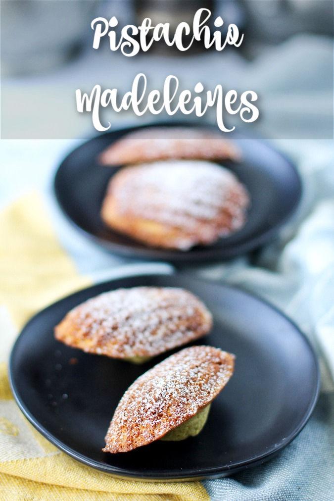 Pistacchio Madeleines - Madeleines a la Pistache