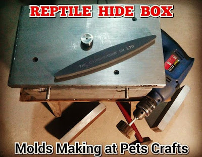Quality Reptile Hide Boxes - Pakistan