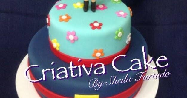 CRIATIVA CAKE: BOLO SHOW DA LUNA