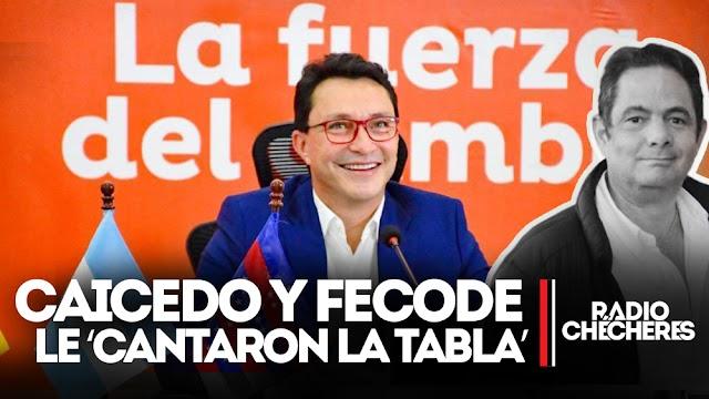 Fecode apoyó al gobernador Caicedo y rechazó indagación del ente de control
