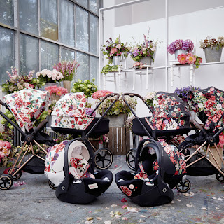 Cybex Spring Blossom Strollers And Car Seats