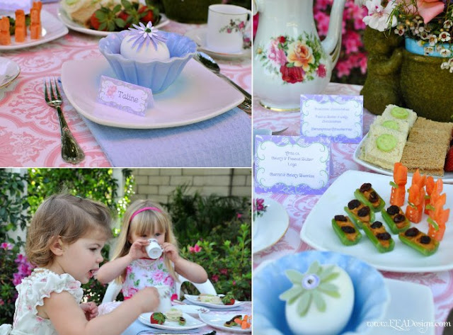 Mother's Day Party: A Mother and Daughter Tea Party - via BirdsParty.com
