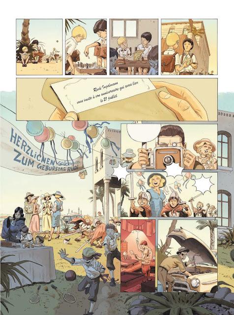 La guerre invisible Tome 1 : L'agence de Frank Giroud et Olivier Martin aux éditions Rue de Sèvres page 27