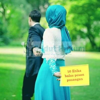 Sepuluh Etika Membalas Pesan Pasangan