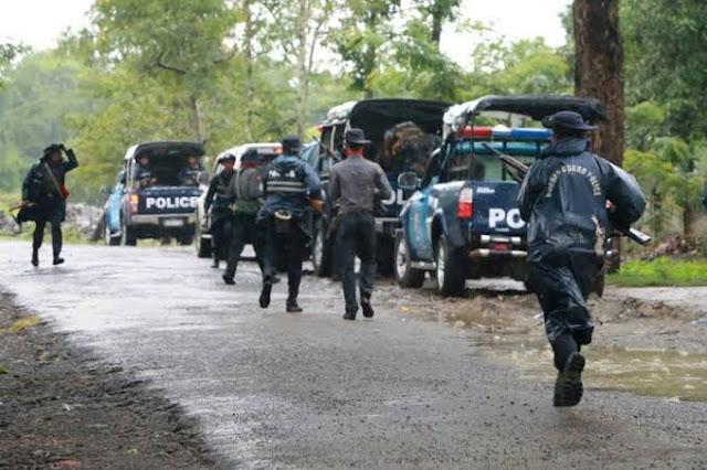 10 Polisi Myanmar Tewas Diserang Tentara Etnik Pro Demonstran