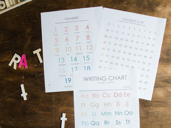 Tips for Teaching your Child to Read through Play and Free ABC and Number Printables