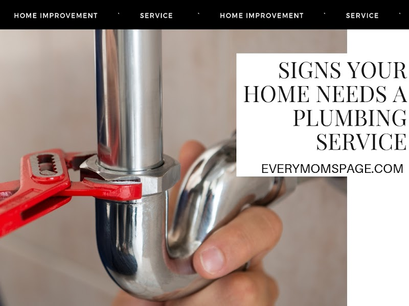 Signs Your Home Needs A Plumbing Service