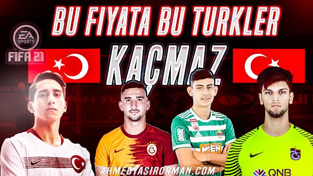 Fifa 21 genç Türk futbolcular