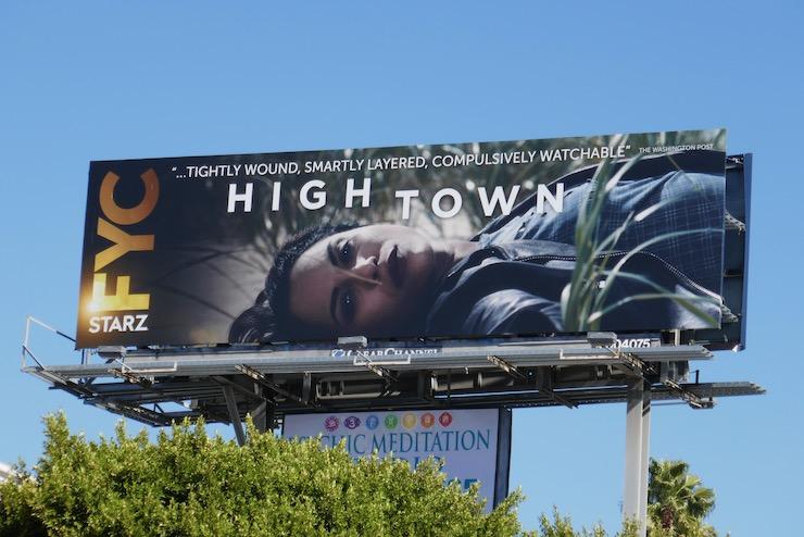 Hightown FYC billboard