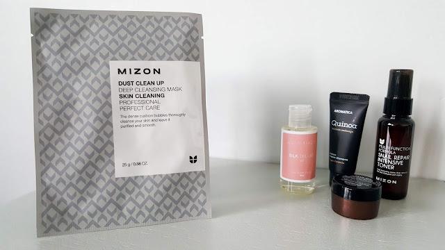 Mizon Dust Clean Up Deep Cleansing Mask | Köpüren Profesyonel Derinlemesine Temizlik Maskesi