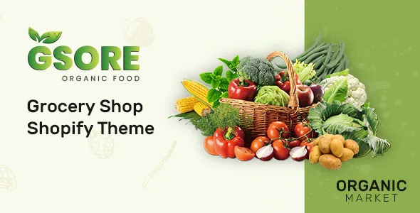 Best Grocery and Organic Food Shop Shopify Theme