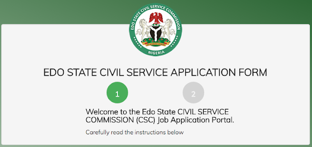Edo State Civil Service Commission Recruitment 2018