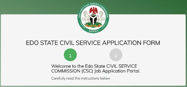ESCSC - Edo State Civil Service Commission Recruitment Login For Director (Statistician).