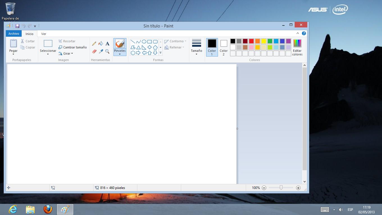 El Ba L De Pepe Como Encontrar El Programa Paint En Windows 8